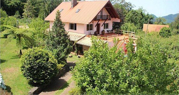 奥地利的乡间农舍和山地小屋